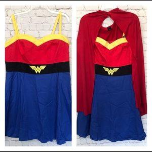 DC COMICS WONDER WOMAN COSPLAY DRESS PLUS SIZE